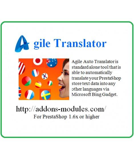 Agile Auto Translator For PrestaShop