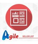 Agile PrestaShop Seller List Options module 1.0