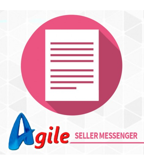 Agile Messenger vendedor de PrestaShop 1.0