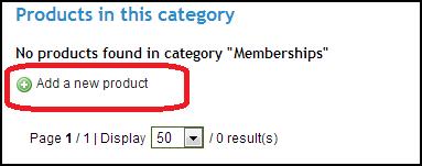 Agile PrestaShop membership module configuration, add product for membership fee