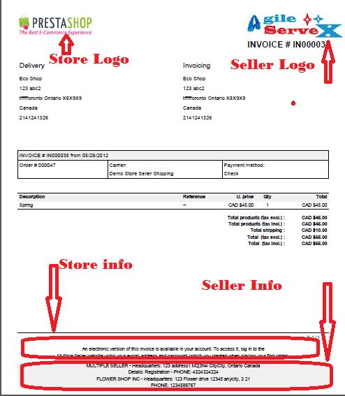 Seller Invoice Rent Interpretomics Co
